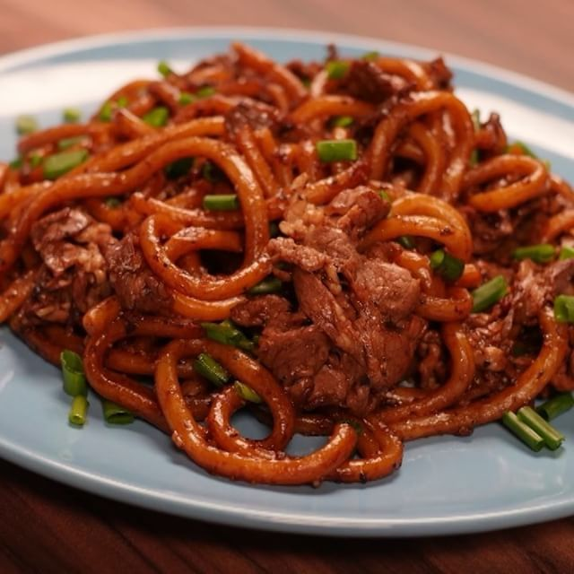 Black pepper beef udon recipe keepers pinterest black pepper black pepper beef udon forumfinder Choice Image