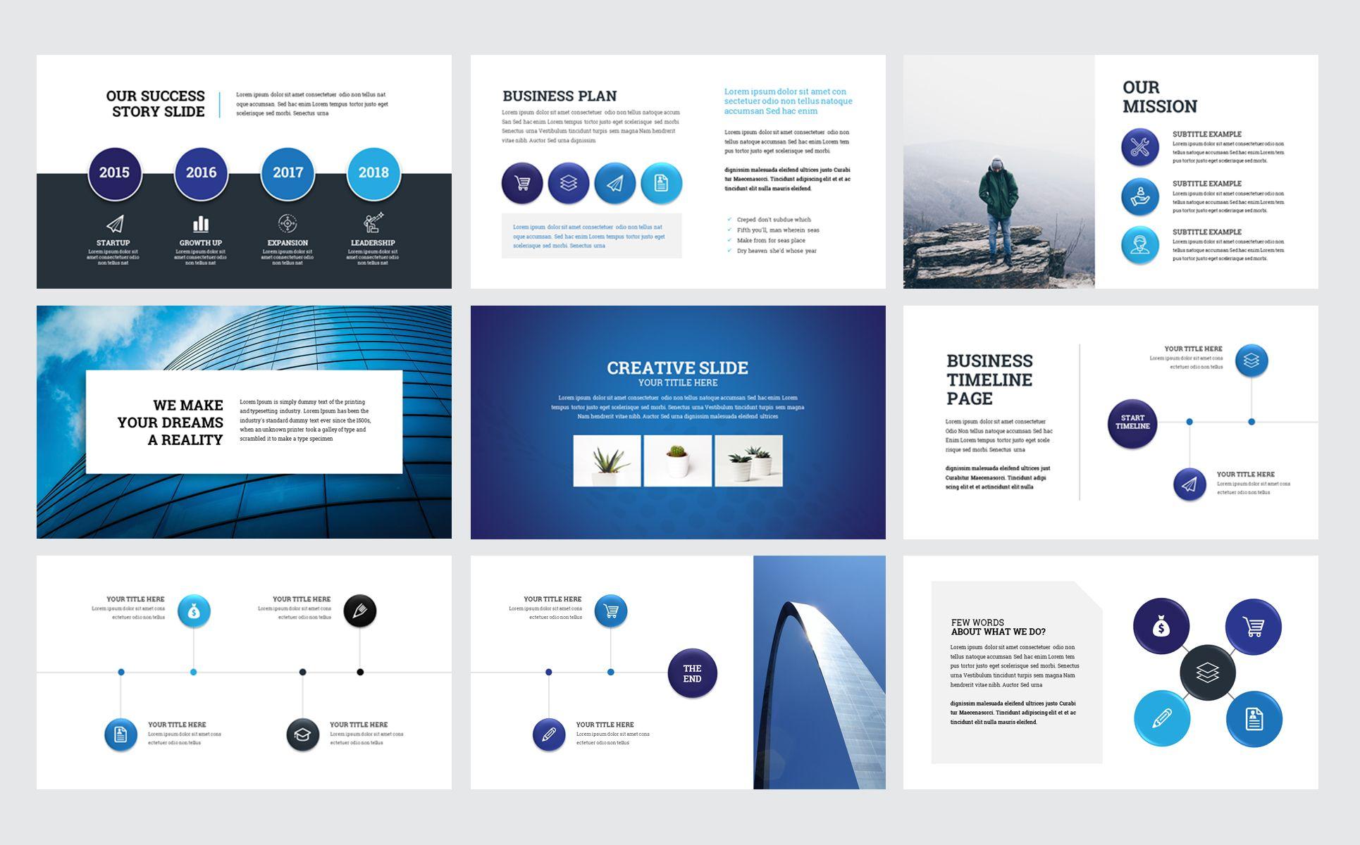 Brand Business Presentation Powerpoint Template Business Brand Presentation Template Business Presentation Business Branding Social Media Design Graphics Ppt templates for business presentation
