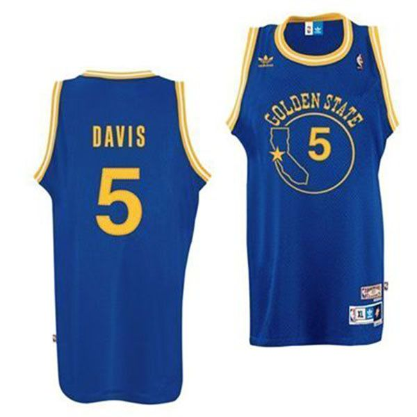 5fb5fb43da9 Golden State Warriors Baron Davis Jersey