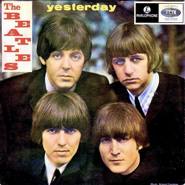 The Beatles Yesterday Album Cover, 1965 The beatles