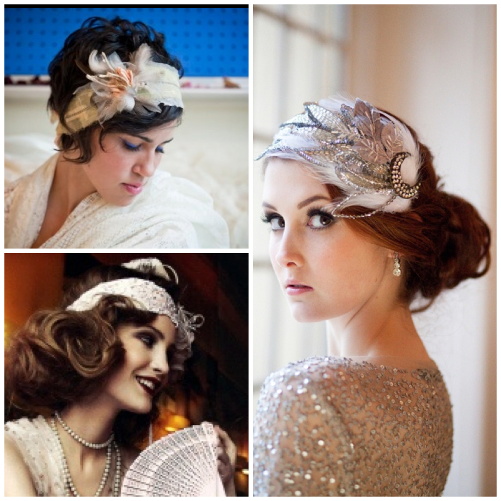 40 Wedding Hairstyles For Long Hair That Really Inspire: Hair From The Jazz Age: Curls