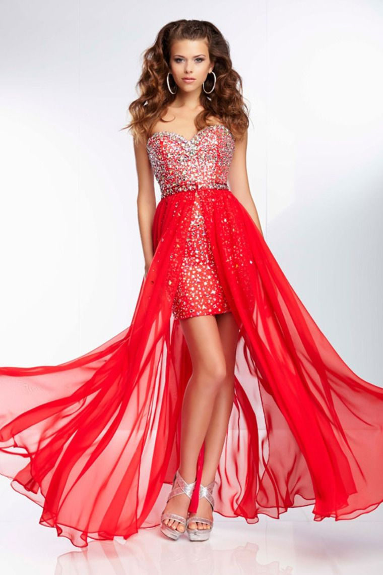 Shop Awesome Prom Dresses Beaded Bodice With Detachable Chiffon ...