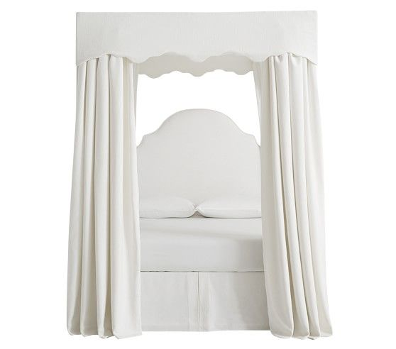 monique lhuillier full canopy bed | Pottery Barn Kids.  sc 1 st  Pinterest & monique lhuillier full canopy bed | Pottery Barn Kids. | Furniture ...