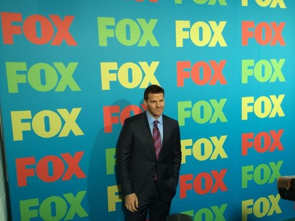 David handsome at FOXUpfronts2014