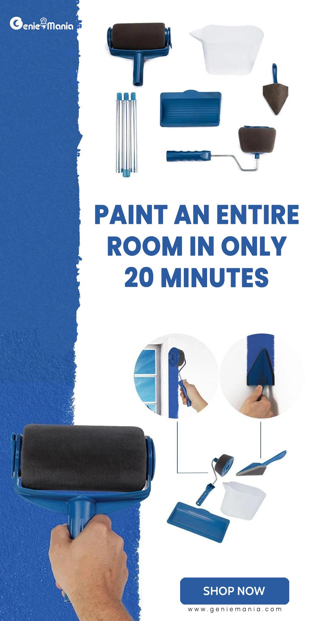 Paint Roller Brush Painting Handle Tool Paint Roller Diy Home Repair Home Decor Hacks