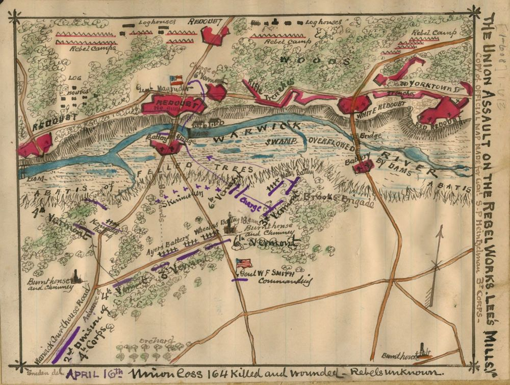 civil war map 1862 reproduction print color wall map on laminated wall maps id=83059