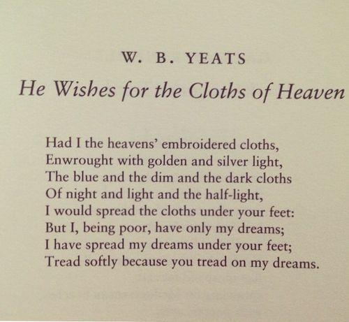 17 Best Yeats Quotes On Pinterest William Butler Yeats