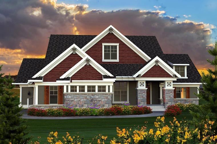 **Modified Exterior** Number of Bedrooms 3 Number of