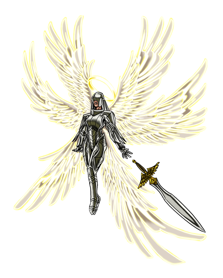 Solar Angel With Greatsword Pathfinder Pfrpg Dnd D 3 5 5th Ed D20 Fantasy