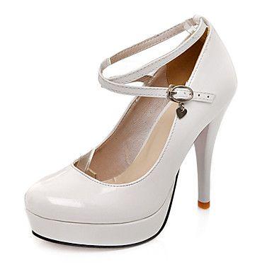 zapatos de plataforma de charol zapatos stilettos talones del partido / la noche / de la boda de las mujeres más colores disponibles - USD $ 17.79