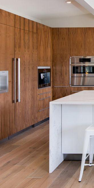 Walnut Slab | Ikea cabinets, Clean kitchen cabinets ...