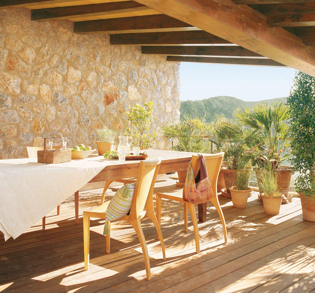 Larga vida a los muebles de jardín! | Muebles de jardin, Aceite de ...