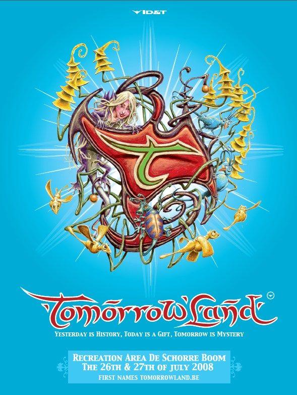 20080727 Tomorrowland2008 Jpg 589 782 Pixels Tomorrowland Tomorrowland Festival Festival Flyer