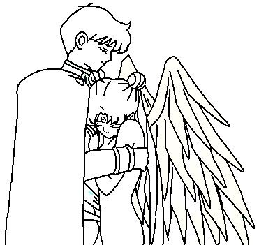 Couple coloring page by ParamourPhoenix on DeviantArt | LineArt ...