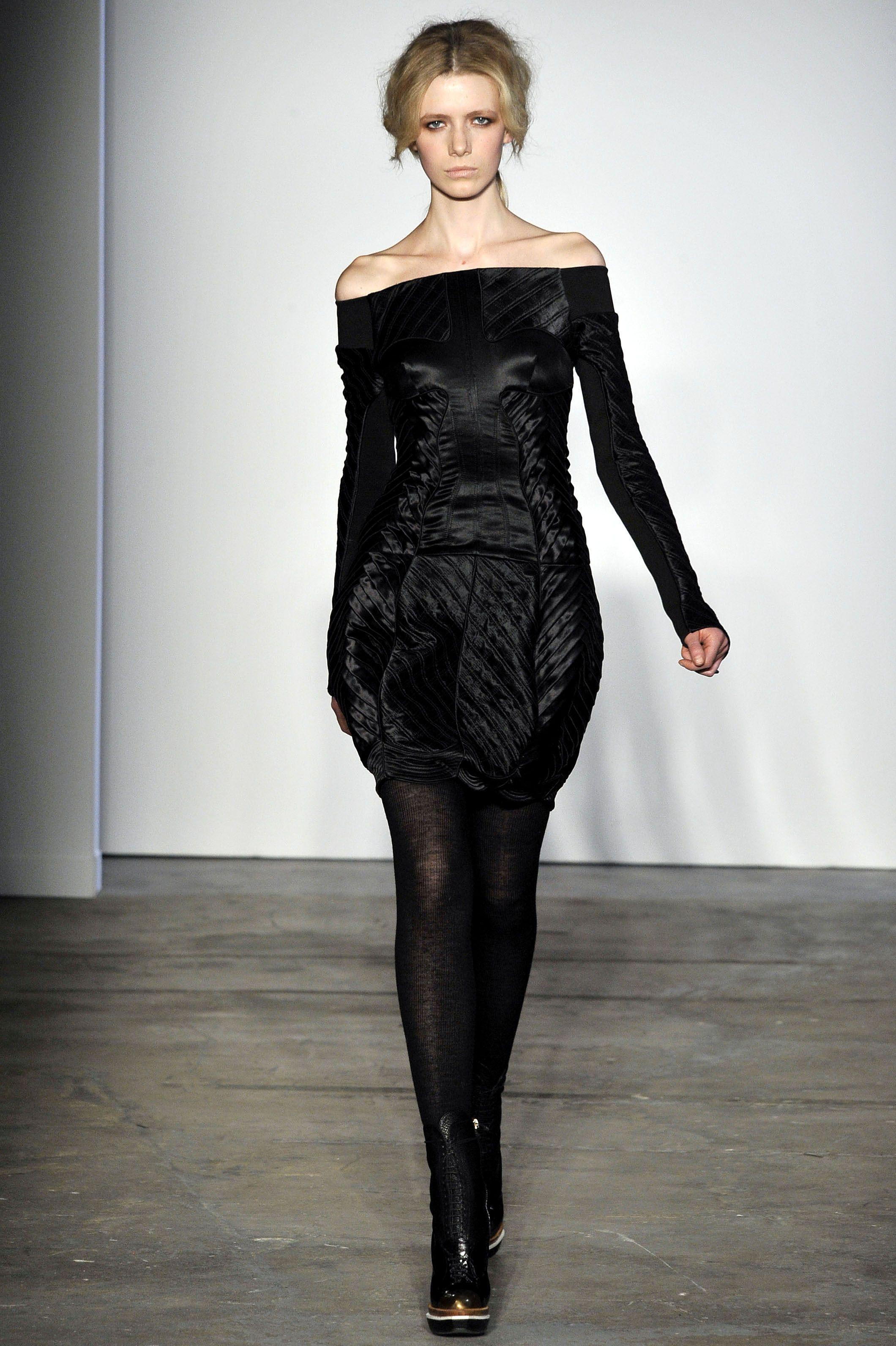 Proenza schouler black dresses pinterest fall winter fashion