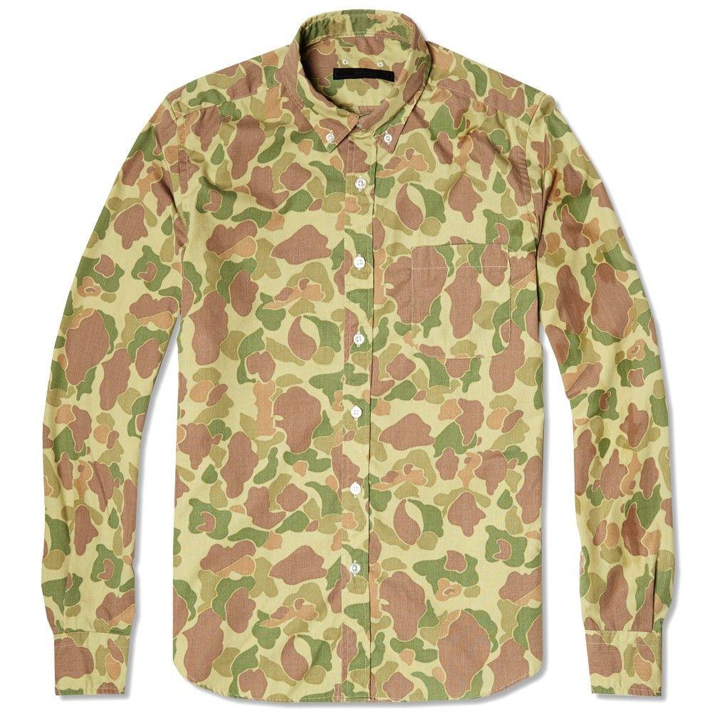 Sophnet Camouflage Button Down Shirt Duck Hunter How