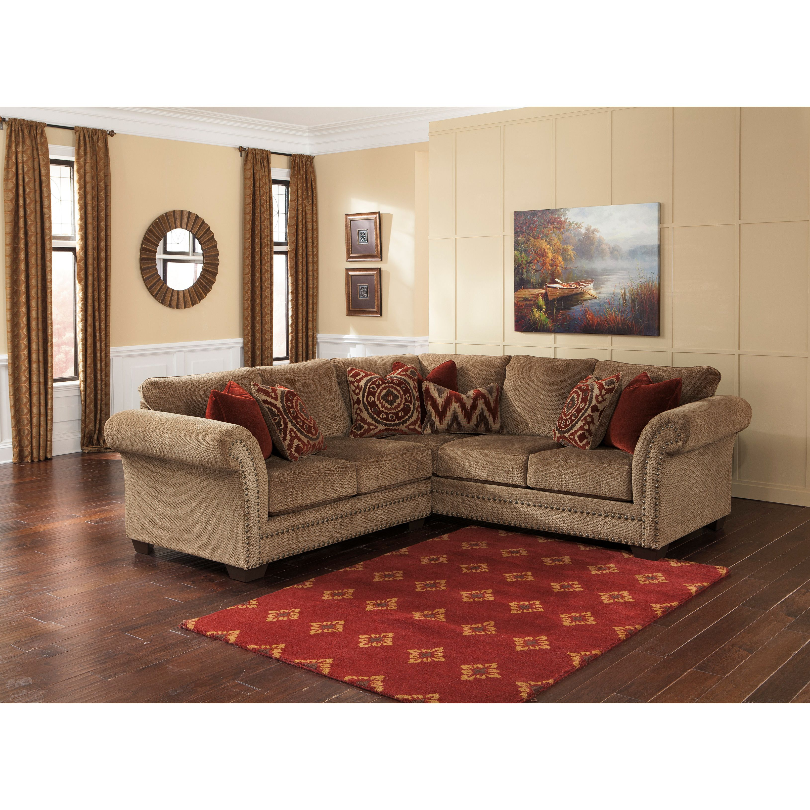 Classic Design Meets Modern Comfort With The Grecian Sofa Sectional