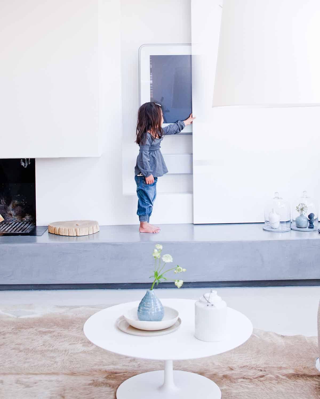 Innenarchitektur für schlafzimmer-tv-einheit jeroen van der spekinterior  stillstars  woonkamer