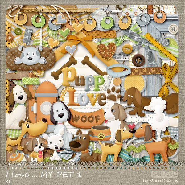 I LOVE... MY PET 1 (PU/S4H) Pet 1, Free digital