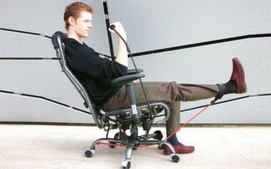GymyGym exercise chair Workout at office