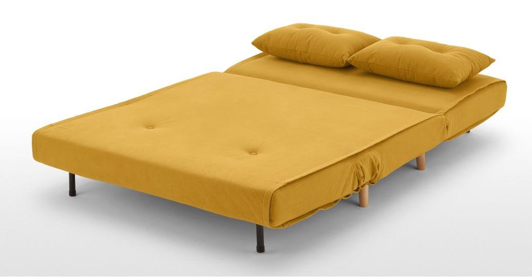 Haru Kleine Slaapbank Botergeel Small Sofa Sofa Bed Bed