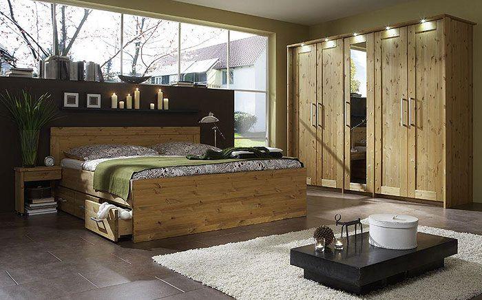 Kiefernholz Schlafzimmer Landhausstil Kiefer massiv gelaugt geölt - schlafzimmer im landhausstil