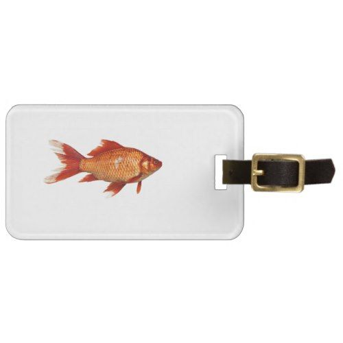 Real Goldfish Bag Tag Animal Gift Ideas Animals And Pets Diy Customize
