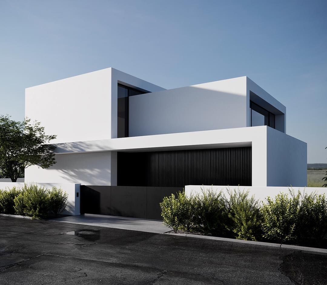 Villa Design By Arndt Geiger Herrmann 2018 Arc Only Facade