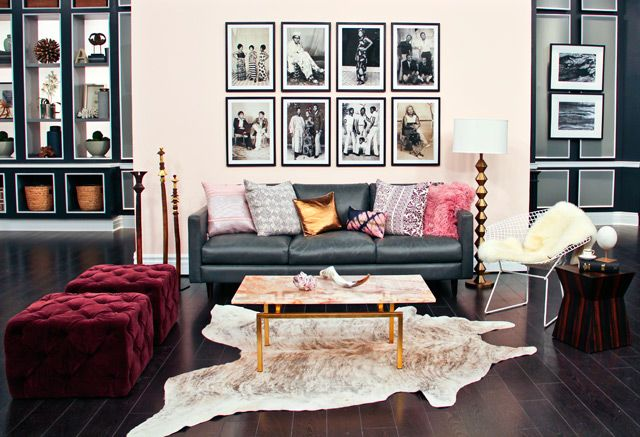 Feminine Living Room With A Masculine Edge Steven And