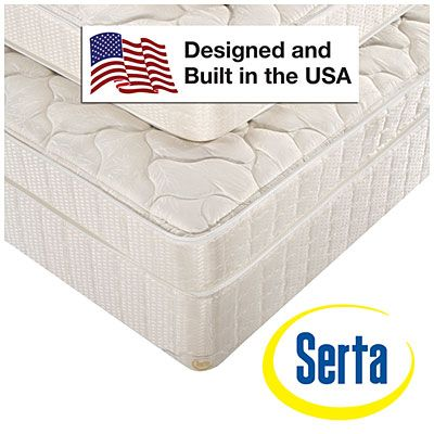 118 Serta Split Queen Tan Box Spring At Big Lots Mattress