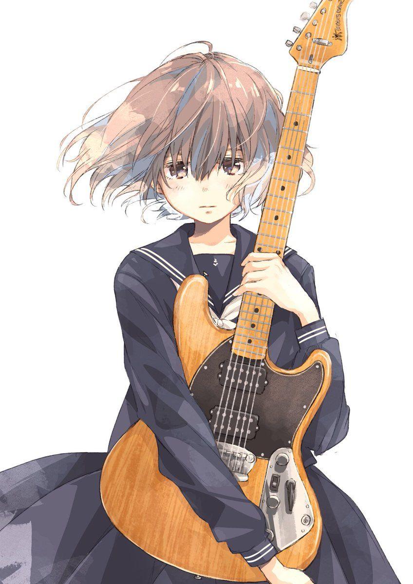 楽器と女の子 | 綺麗 | pinterest | anime、manga anime、desenhos