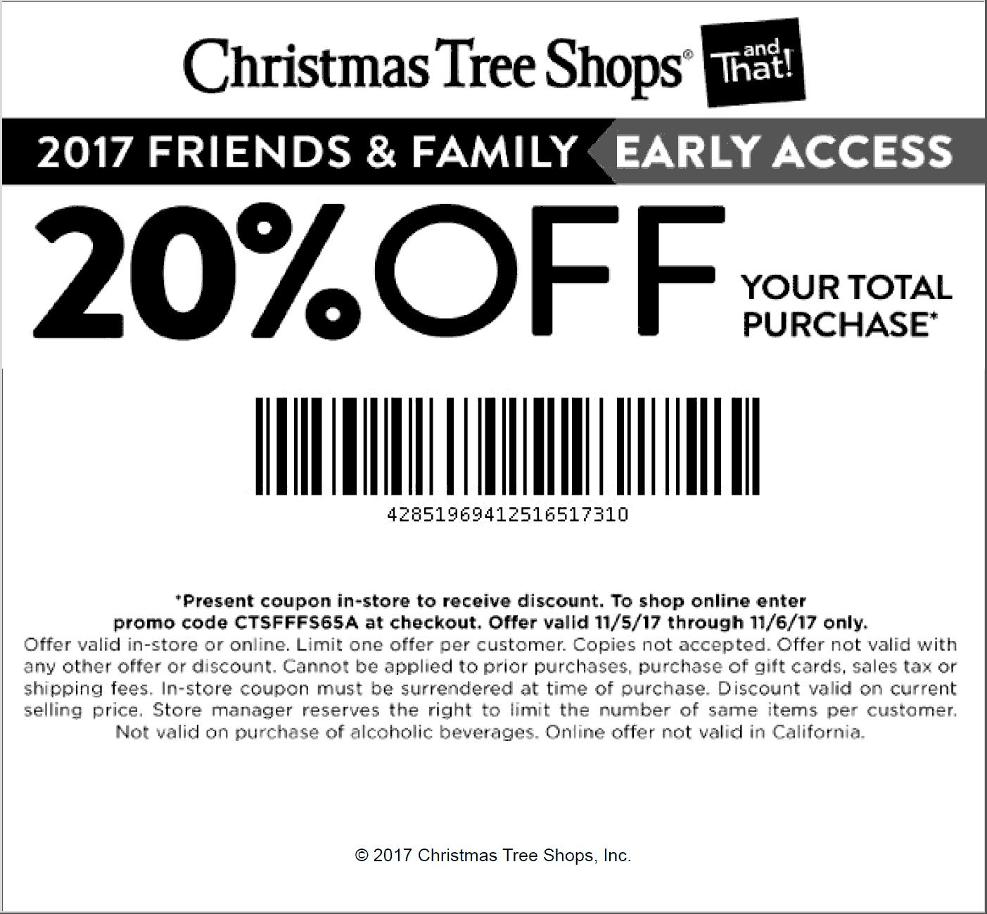 Christmastreeshop.Com Trick di 2020