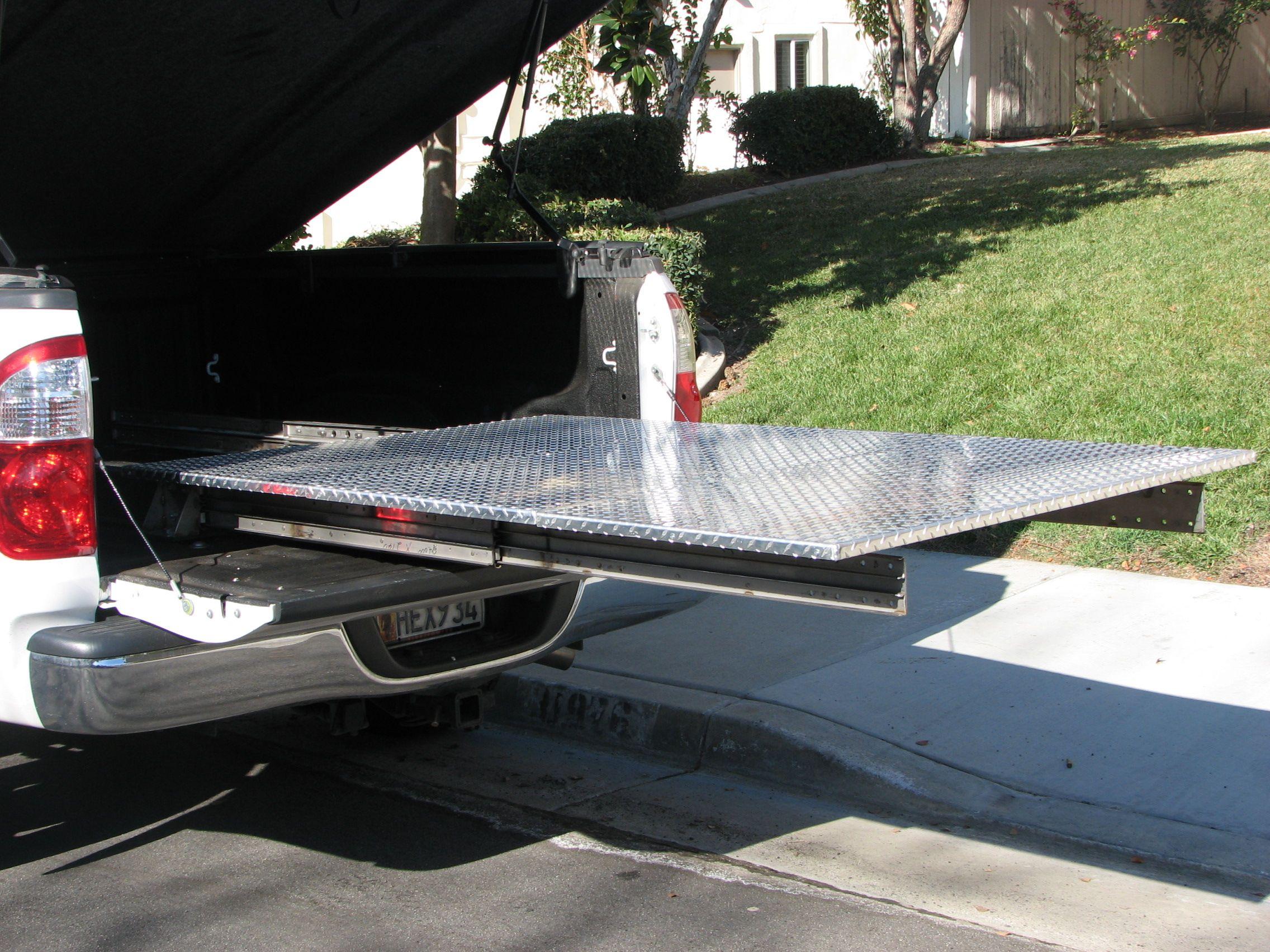 truck bed slide plans | garage/woodshop | pinterest | truck bed