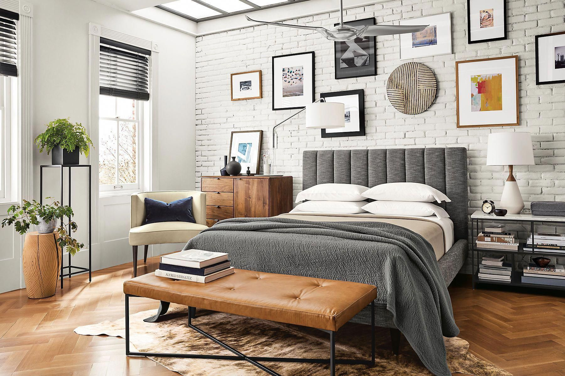 Hartley Bed - Modern & Contemporary Beds - Modern Bedroom Furniture - Room & Board