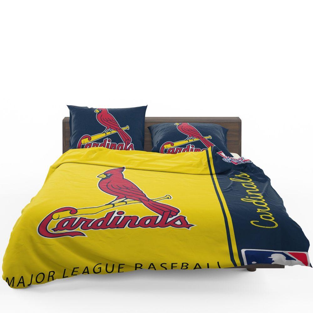 St Louis Cardinals Mlb Baseball National League Bedding Set