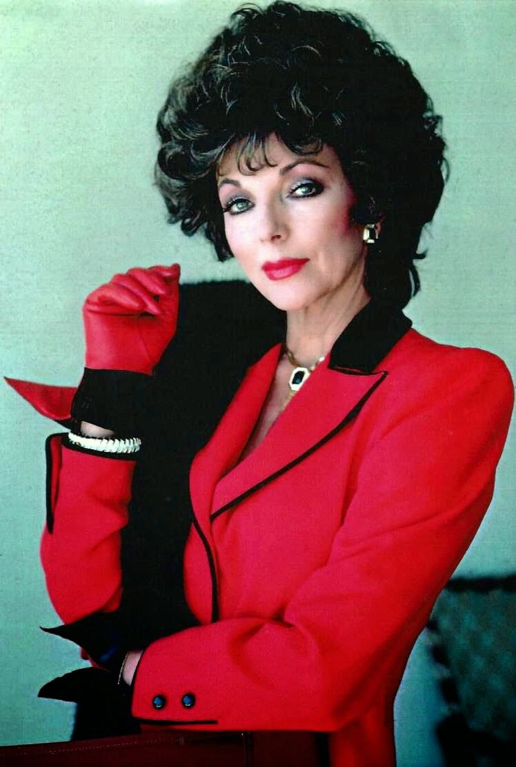 Joan Collins In Quot Dynasty Quot Joan Collins Dame Joan