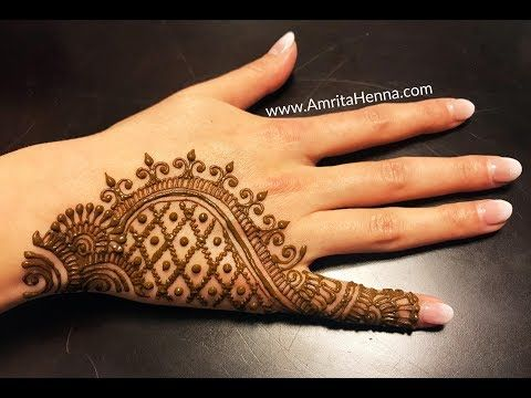 Learn Latest 2018 Eid Mehendi How To Apply Beautiful Henna Mehndi