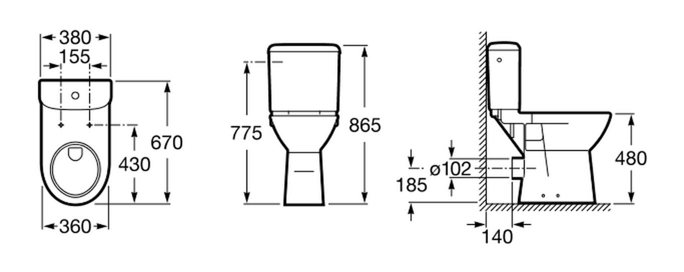 Resultado De Imagen Para Altura De Inodoro Arquitectura Disenos De Unas Arquitectonico