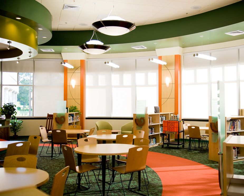 School Media Center Design