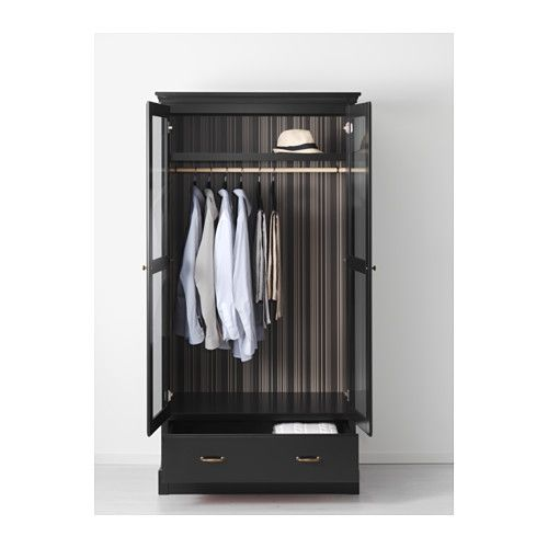 Kleiderschrank ikea schwarz  UNDREDAL Kleiderschrank - IKEA | Landhaus | Pinterest | Armoires ...
