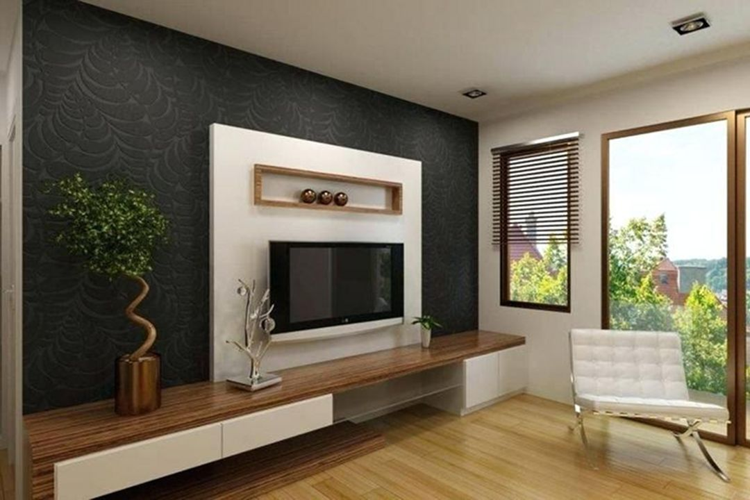 35 Stunning Wall Units Designs For Cozy Living Room Ideas Lcd