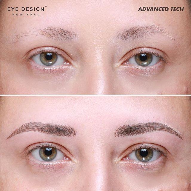 Brows By Advancedtechnician Eyedesigndaniela At Eye Design Ny