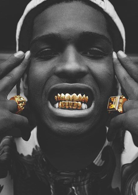 male, rapper and a$ap rocky image on We Heart It