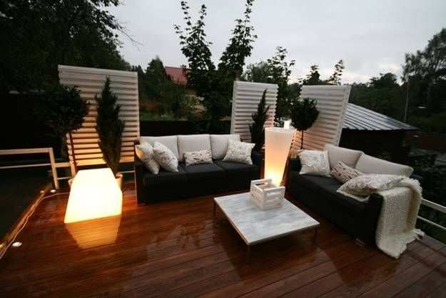 22 modern outdoor seating areas 11 backyard ideas to for Terrace seating ideas