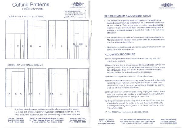How To Build A Murphy Bed Hardware And Plans Arizona Wall Bed