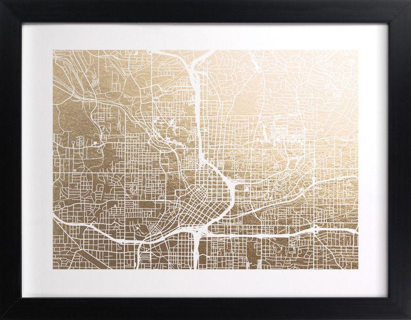 Atlanta Map\