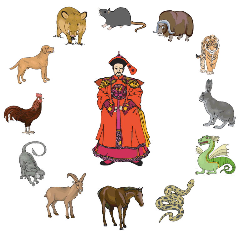 An illustrated story of the Chinese Zodiac Zodiac