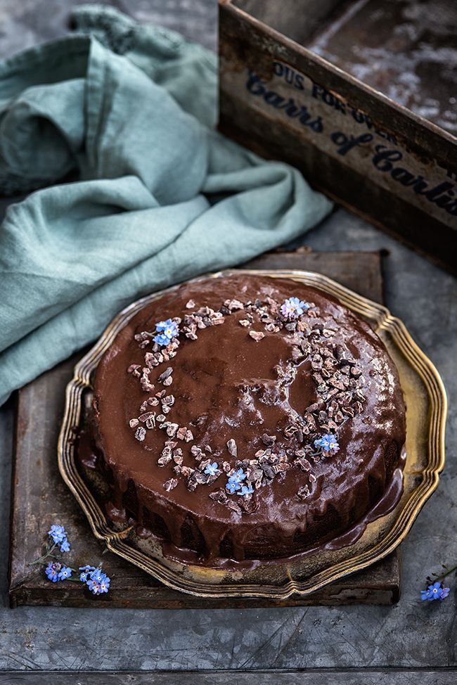 Chocolate, date and coffee cake a simple cake to satisfy