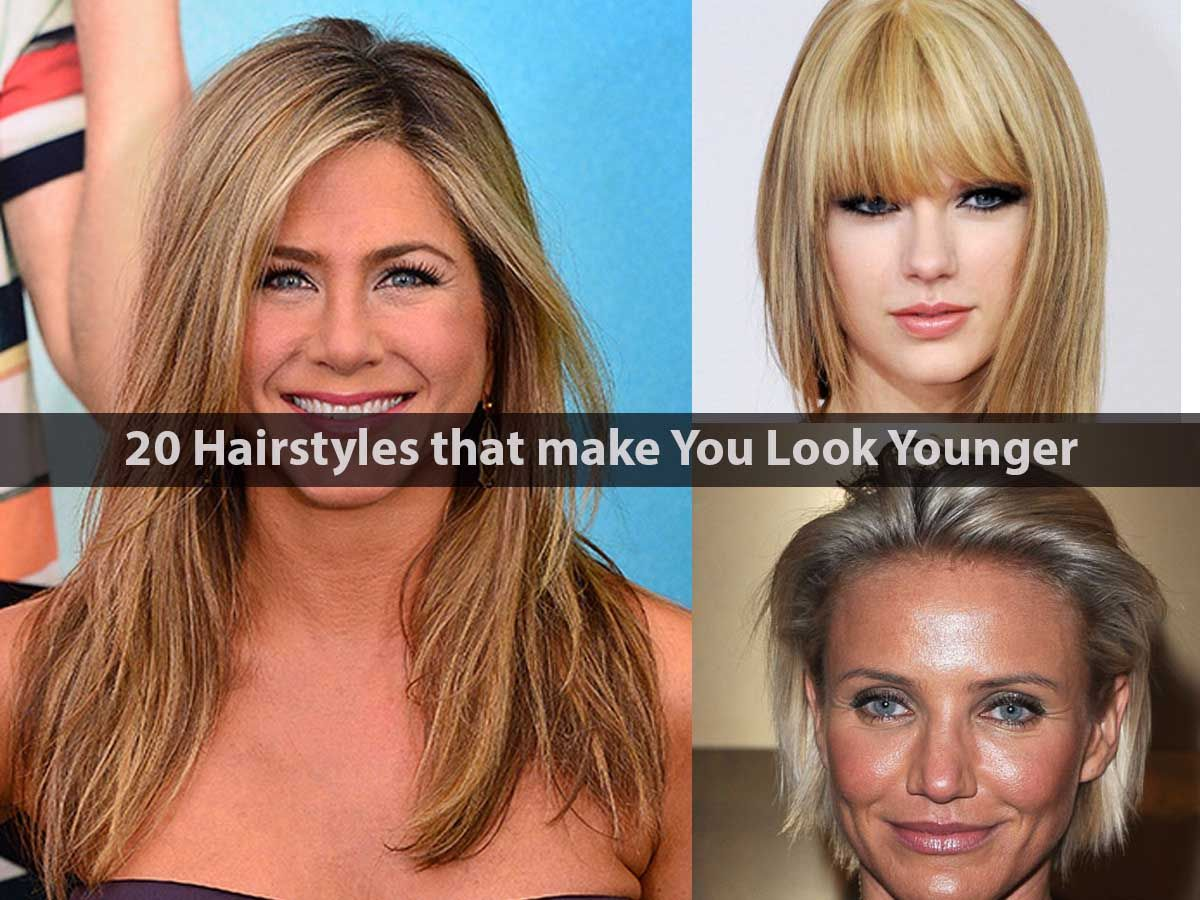 20-hairstyles-that-make-you-look-younger | hair | pinterest