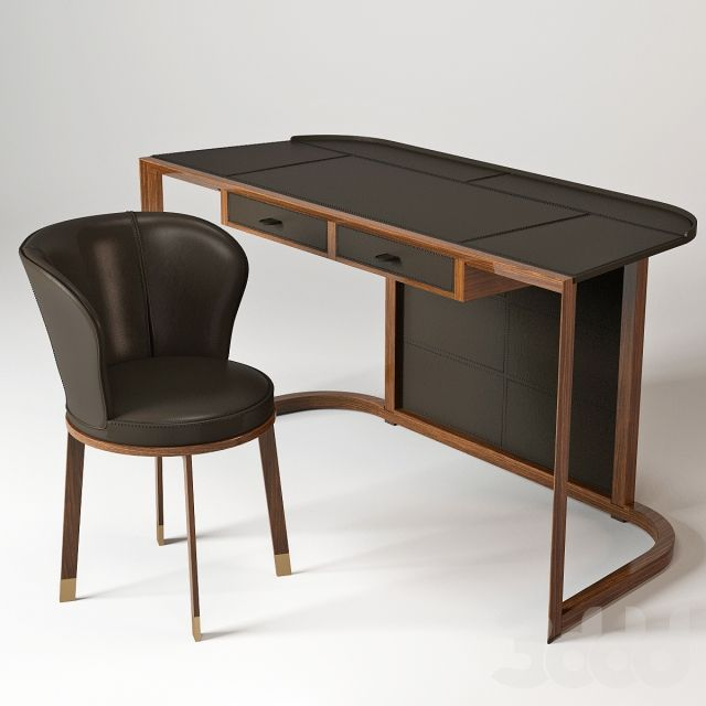 Ion Desk & Ode Chair 3D models Pinterest